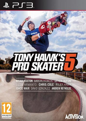 Tony hawk's pro skater 5 ps3 juego original fisico sellado