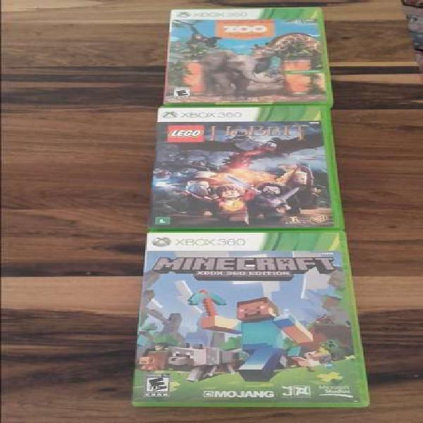Tres juegos x box originales