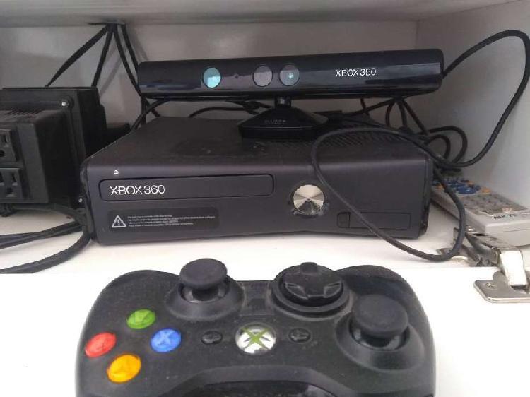 Xbox 360 + kinect + joystick + juegos
