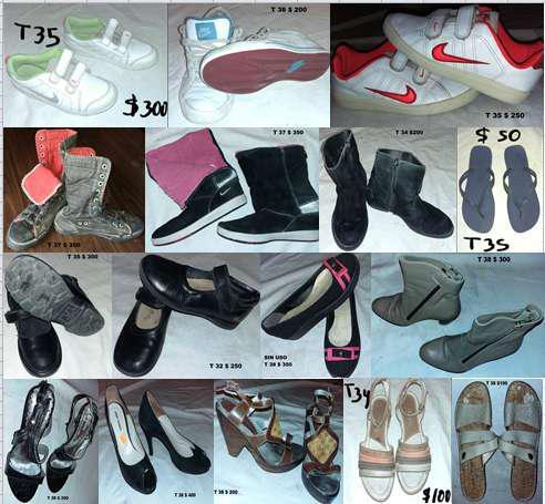 Zapatillas zapatos varios