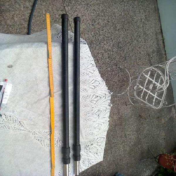 bastones extensibles,para pintar, livianos,largo