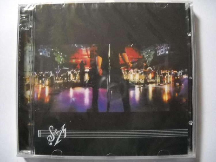 Metallica s m 2 cd sellado