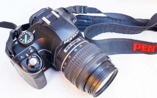 Camara digital pentax kx lente 18/55 12mp