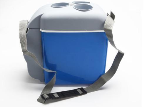 Conservadora auto camping portatil frio - calor 7,5lts 12v