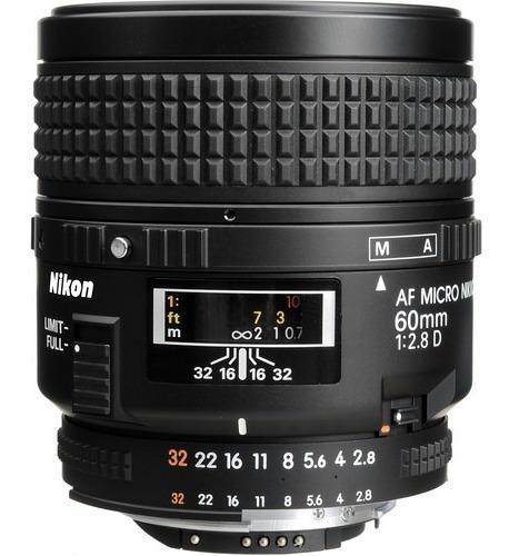 Nikon Af Micro-nikkor 60mm F/2.8d Lens _s
