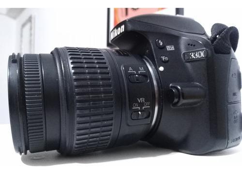 Nikon D3300 Con Lente 18-55 Vrii Usada. 6 Cuotas Sin