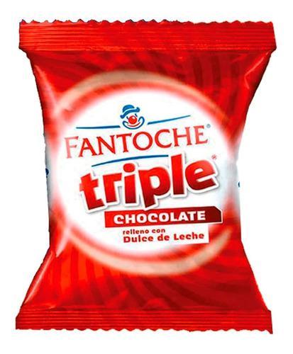 Alfajor fantoche triple chocolate dulce de leche 85g x1 uni