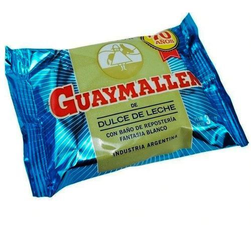 Alfajor guaymallen baño reposteria dulce de leche caja x40