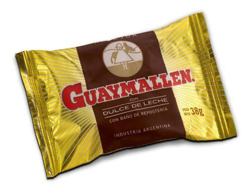 Alfajor guaymallen chocolate dulce de leche 40u caja x40
