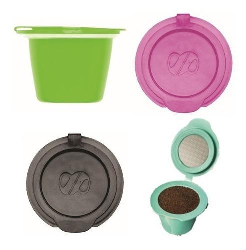 Capsulas nespresso recargables caffettino x4 - eco