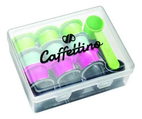 Capsulas recargables nespresso x12 marca caffettino