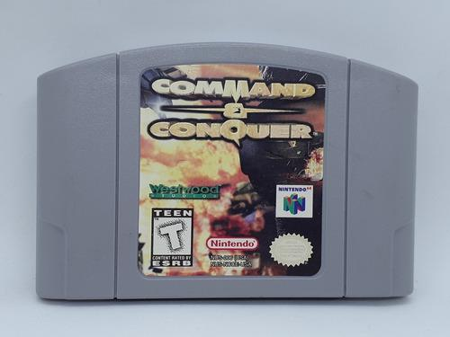 Command And Conquer Nintendo 64 N64 Graba _la Retro!