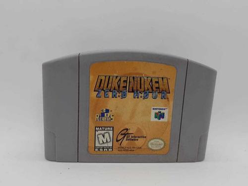 Duke Nukem Zero Hour Nintendo 64 N64 Original _la Retro!