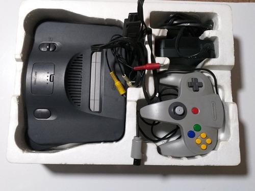 Nintendo 64 En Caja Con Juego