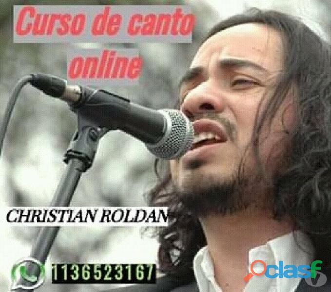 Curso de canto online