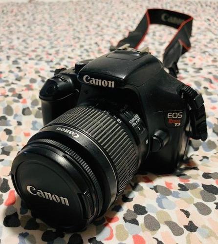 Canon eos rebel t3 - 6023 disparos.