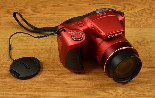 Canon powershot sx400 is + muchos accesorios