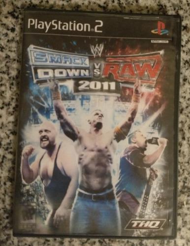 Juego ps2 smack down vs raw