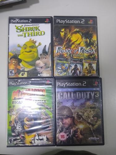 Lote de juegos play 2