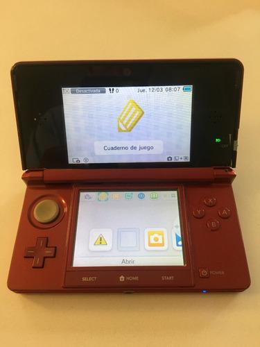 Nintendo 3ds con 4 juegos fisicos