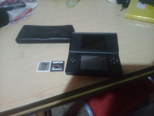 Nintendo 3ds Lite Con Lápiz Con Funda Y R4