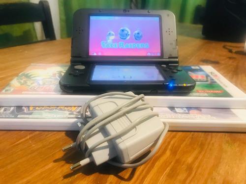 Nintendo 3ds New Xl Con 4 Juegos Originales