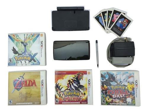 Nintendo 3ds Original Cosmo Black Excelente Estado + Juegos