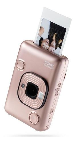 Camara Impresora Fujifilm Instax Mini Liplay Gold Cuotas