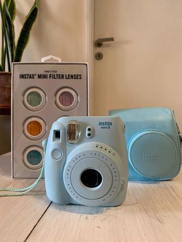 Camara Instax Mini 8 Celeste Fujifilm