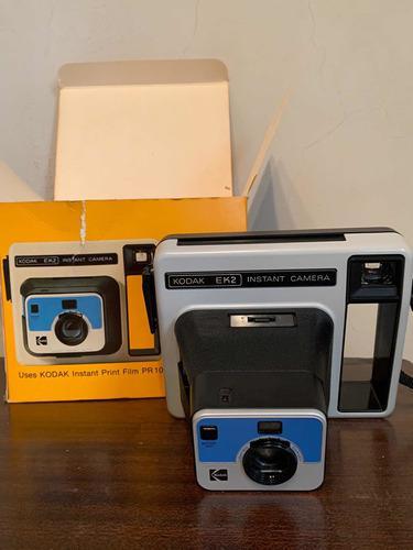 Cámara Kodak Instantánea Ek2 Antigua