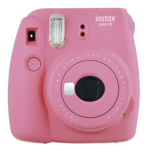 Fuji Instax Mini 9 Rosa Selfie Tipo Polaroid Nueva Cuotas