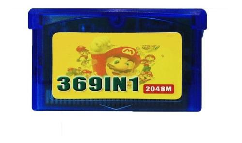 Gameboy advance csrtucho 369 en 1 simil everdrive gba - env.