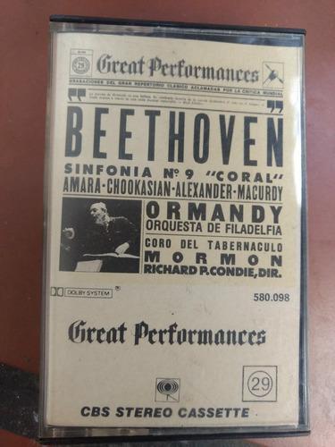 Great performances beethoven cassette
