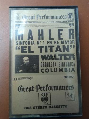 Great performances mahler cassette