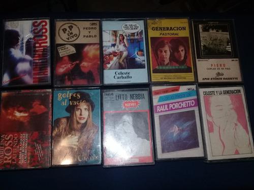 Lote cassettes - carballo - pastoral - porcheto - nebbia