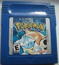 Pokemon bleue version - gb original - graba partida
