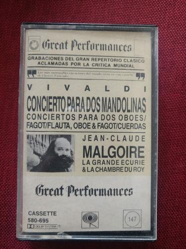 Vivaldi malgiore great performances cassette