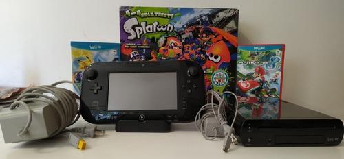 Wii u splatoon deluxe set