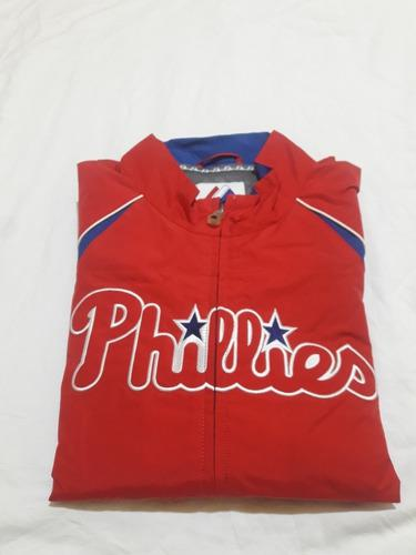 Campera mlb majestic impermeable (phillies) talle m