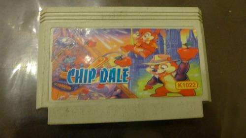 Chip & dale rescue rangers para family game nintendo nes
