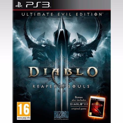 Diablo 3 reaper of souls ps3 español digital tenelo hoy!!