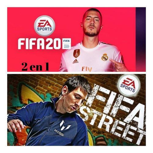 Juegos fifa 20 ps3 + fifa street ps3, leer descripción...