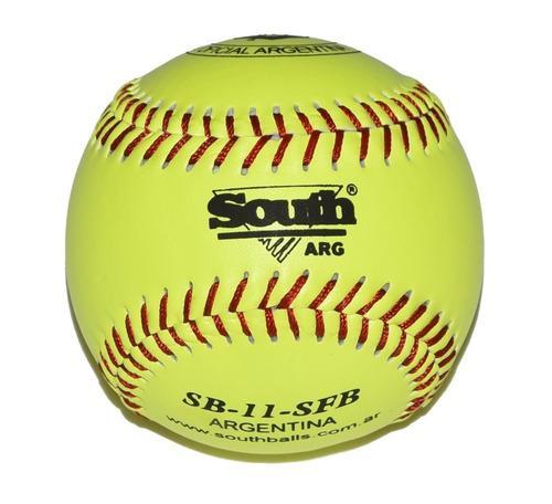 Pelota de softbol south de 11'' de seguridad - docena