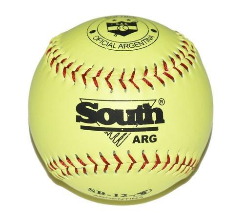 Pelota de softbol south de 12'' primera div - docena