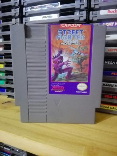 Street fighter 2010 the final fight - nintendo nes original