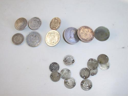 Monedas de plata para rastras u otras artesanias criollas