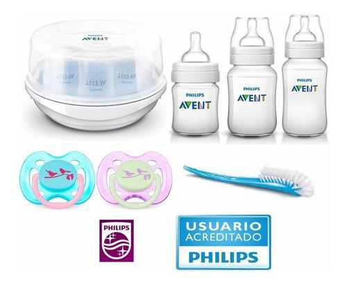 Set recien nacido avent classic ® pack esterilizador nena