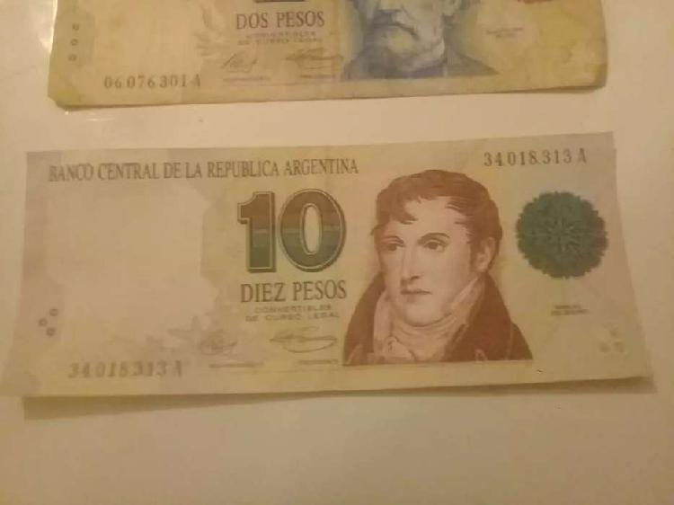 Billetes de los 90