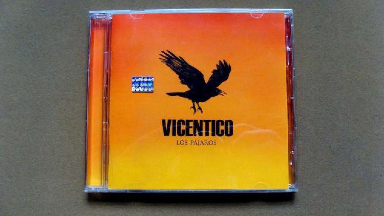 Cd de vicentico los pájaros 2006