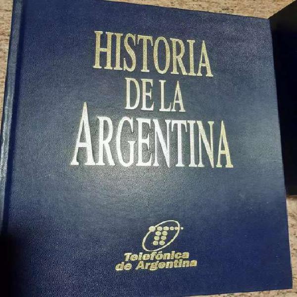 Libros de historia argentina
